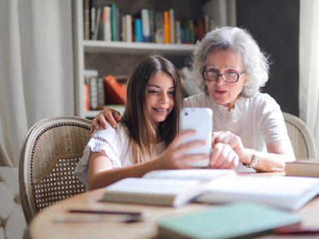Un legame forte tra nonni e nipoti