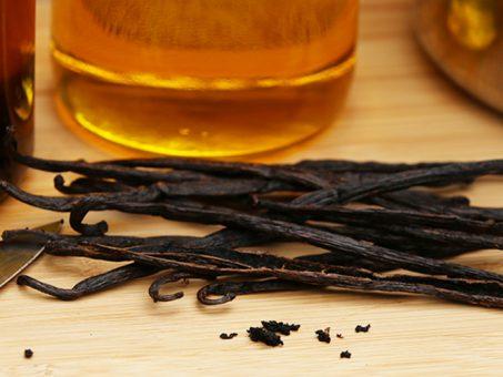 olio di sesamo alla vaniglia